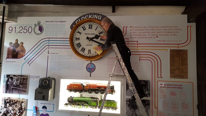 Historic seaside clock is back in time for new display: 20180906-141753.jpg