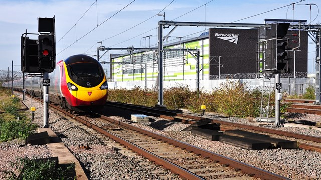Rugby ROC on the West Coast main line