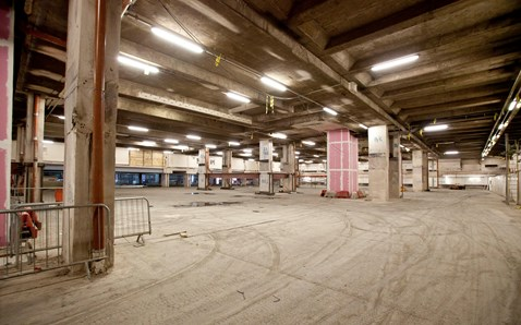 Space created for New Street's new concourse