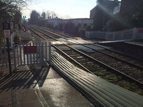 Halesworth level crossing 1