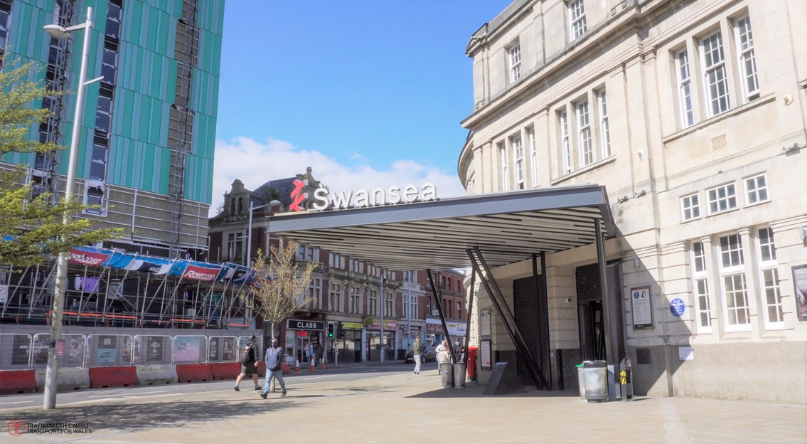 Swansea railway station sees biggest refurbishment in more than a decade: Swansea Station 2021