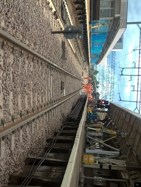 New Track and Switches And Crossings At Colchester