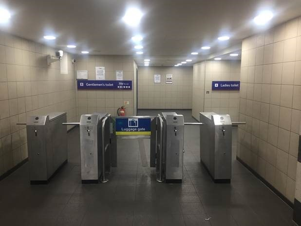 It won't cost anything to spend a penny: Toilets are now free at London Liverpool Street: Liverpool Street station pic