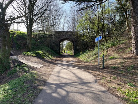 Spey viaduct path