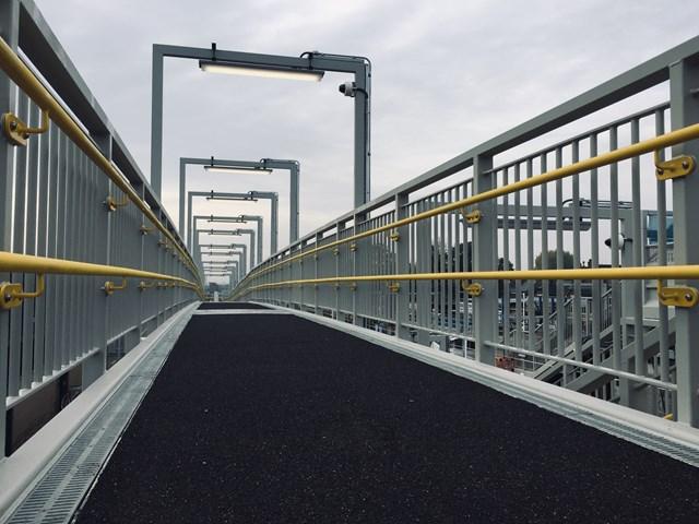 Northumberland Park footbridge
