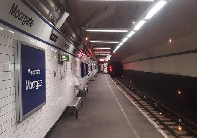 Moorgate lighting improvements