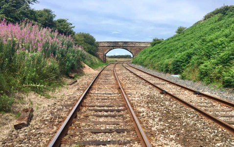 Cumbrian coast track renewal project