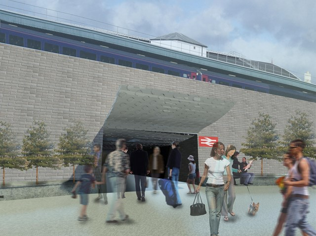 Proposed new eastern access at Bristol Temple Meads: Proposal to redevelop Bristol Temple Meads