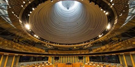 Siambr arty: Welsh Assembly, Siambr, Senedd, Cardiff