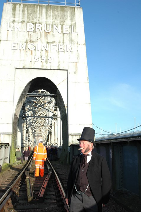 'Brunel' made special a appearance