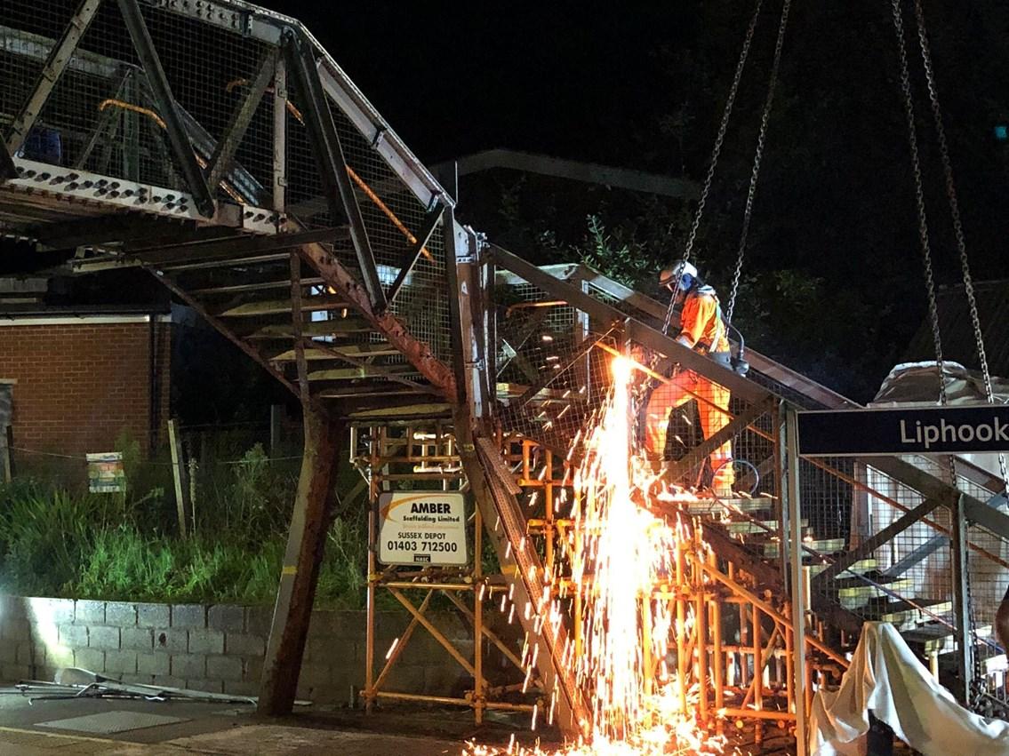 Liphook New Footbridge (4)