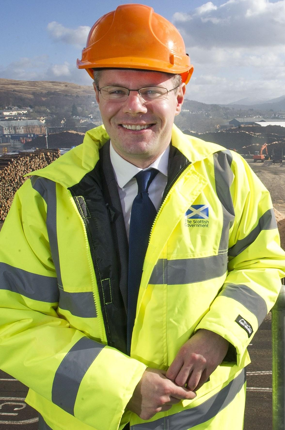 Transport Minister, Derek Mackay