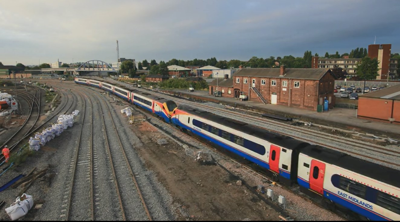 Biggest investment into railway in Derby since the Victorian era enters final week: Biggest investment into railway in Derby since the Victorian era enters final week