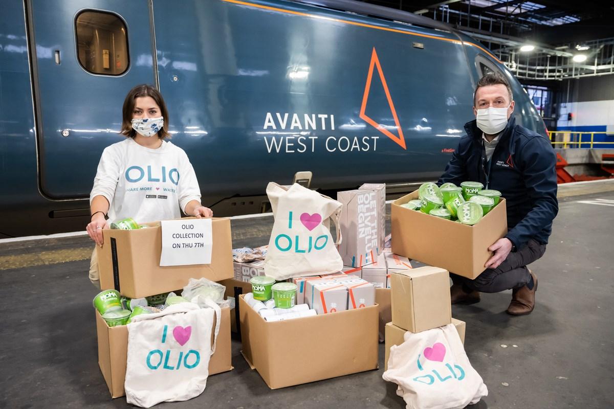 Avanti West Coast Food Donations 1