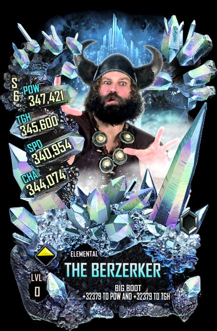 WWESC S6 The Berzerker Elemental
