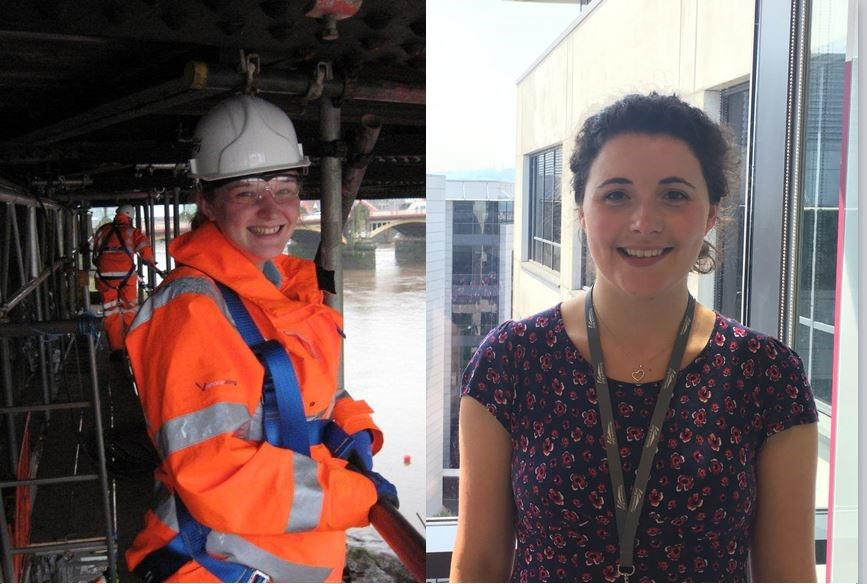 VIDEO: Welsh female engineers encourage women and girls to 'just do it' and consider careers in engineering: Louise Bungay and Hannah Kennedy