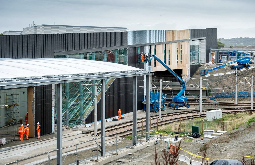 Network Rail announces first contract awards for multi-billion-pound work bank in CP6: Edinburgh Gateway 2