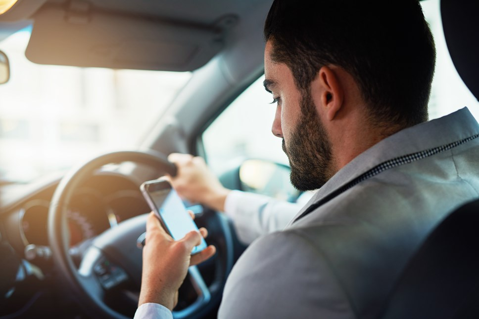58% of young drivers using mobile phones behind the wheel: Phone Driving