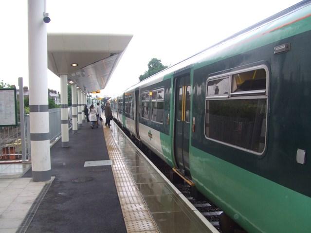NEW STATION OPENS IN MITCHAM: Mitcham Eastfields station