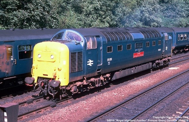 Class 55 Deltic, photo credit - Deltic Preservation Society
