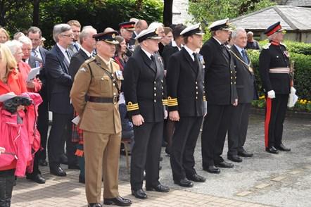 Hometown VC commemoration for First World War submariner: Hometown VC commemoration for First World War submariner