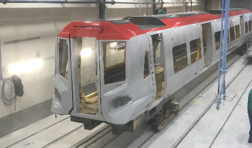 New TfW trains being built