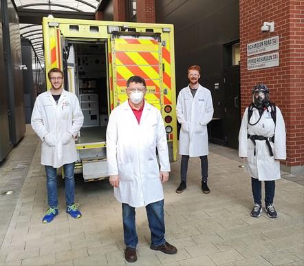 Swansea University ambulance team-2