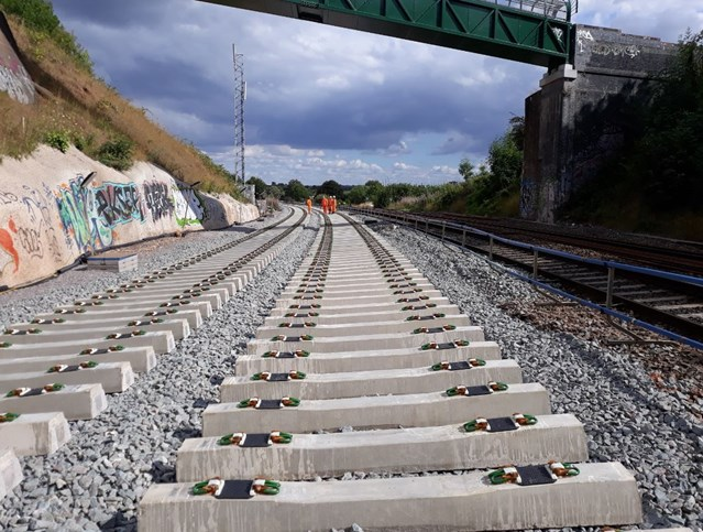 Completion of bridge work marks milestone in the project to double the number of tracks into Bristol Temple Meads: Filton 1