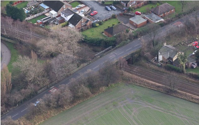 Passengers reminded to check before they travel ahead of weekend Warrington bridge work: Stocks Lane bridge, Warrington