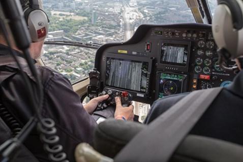 aerial- Surveying over Spa Road, London Bridge