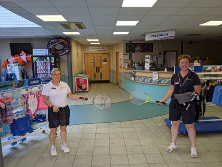 Freedom Leisure Lydney - kit out the nation - inside