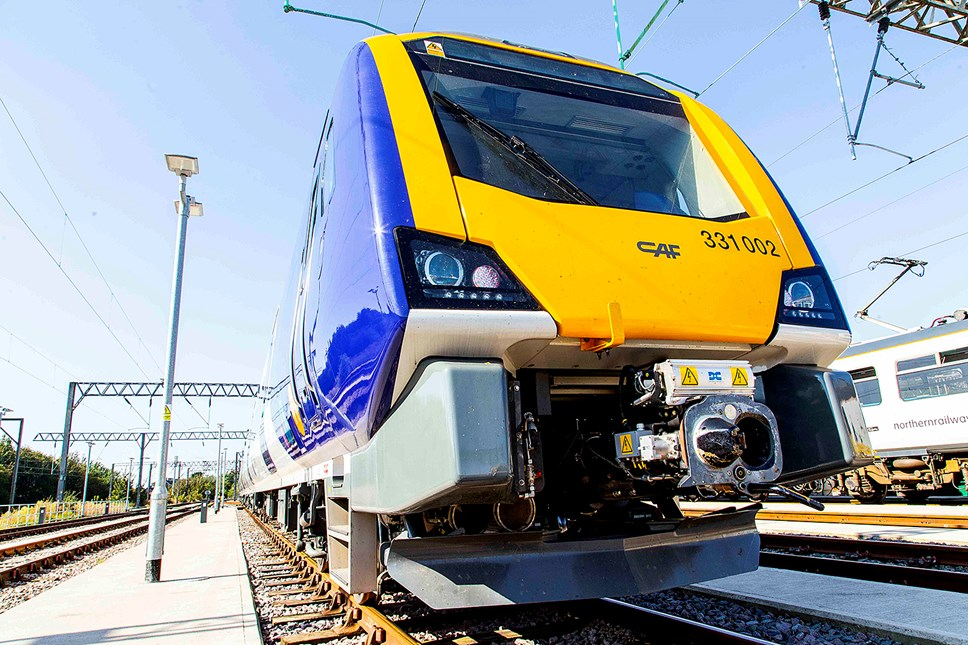 Northern announces second week of key worker timetables: New train 331002