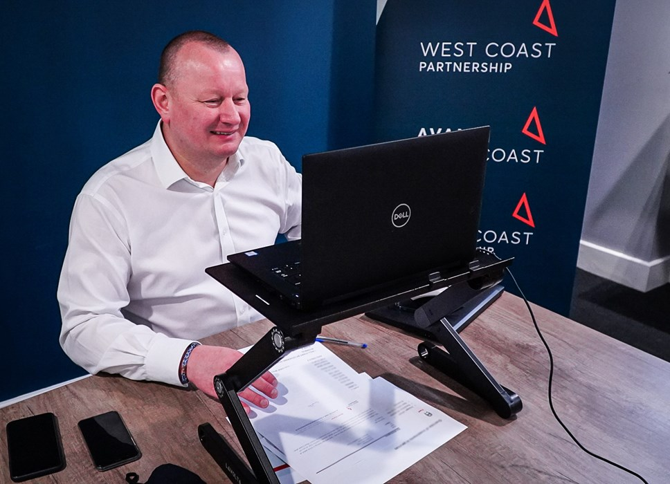 Managing Director of Avanti West Coast, Phil Whittingham,  at the Stakeholder Conference