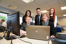 Shona Robison Meets NVT Apprentices: <p>Picture free for first use in print or online in relation to this story. For further use please contact</p><p>John Young<br /><b>T: </b> +44 (0)1389 841369<br /><b>M:</b> +44 (0)7788 438623<br /><b>W:</b> <a href=