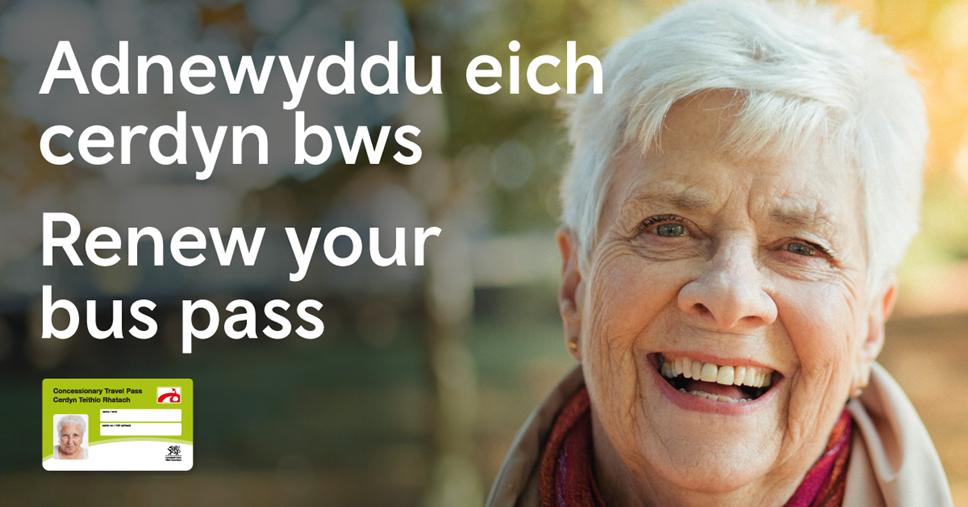 DIWEDDARAF: Trafnidiaeth Cymru yn ei gwneud hi'n haws i bobl gael gafael ar ffurflenni cais am gardiau bws: Concessionary travel pass campaign