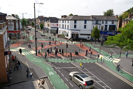 Chorlton Cycleway - Barlow Wilbraham Junction - Visualisation