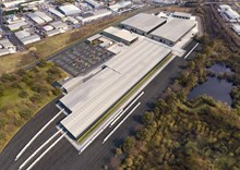 Siemens Mobility Goole site CGI North perspective Feb 2020
