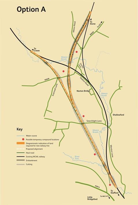 Stafford area improvements