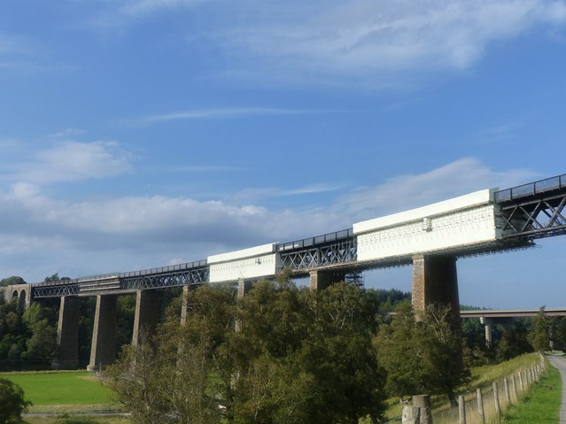 Network Rail completes £4.5m Findhorn viaduct refurbishment: Findhorn Viaduct