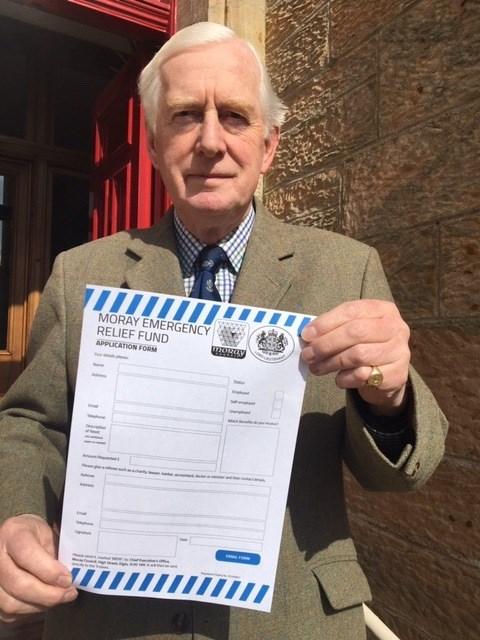 Moray Emergency Relief Fund passes major milestone.: seymour monro