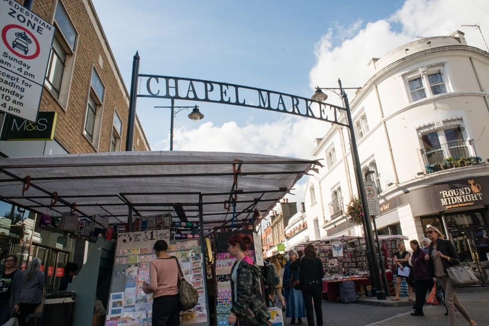 Who is your favourite Islington Market Trader?: Chapel Market in Angel