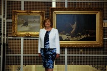 Fiona Hyslop - Burrell collection images Twitter-4