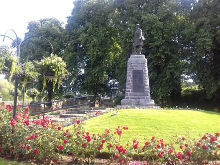 Forres war memorial recognised as among best in region: Forres war memorial recognised as among best in region