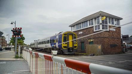 Bedlington South crossing