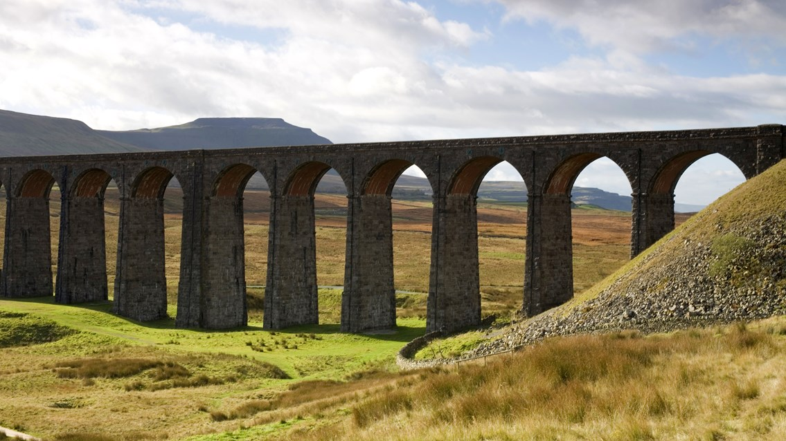 Major investment to improve journeys over world-renowned Ribblehead viaduct: Ribblehead viaduct 16x9