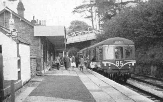 Amlwch branch line in the past