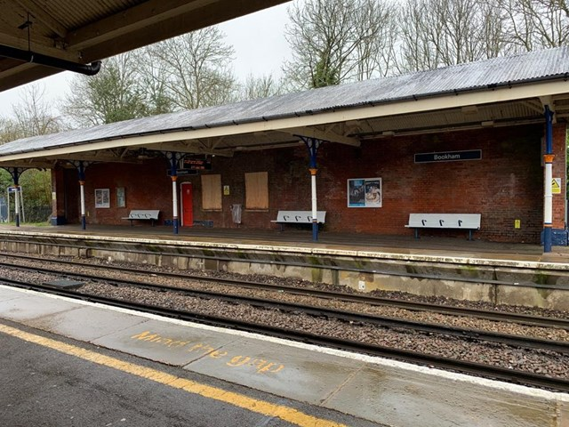 Historic Bookham station on track for a full refurbishment thanks to Network Rail: Bookham station
