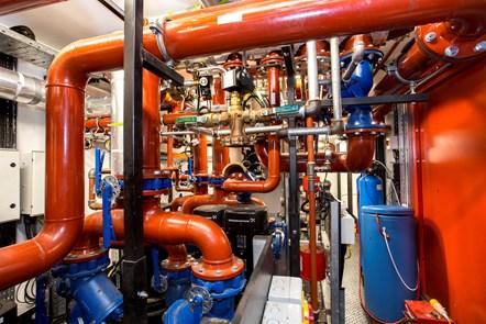 Bunhill 2 Energy Centre - Internal 8: An interior shot of the Bunhill 2 Energy Centre on the edge of City Road, Islington