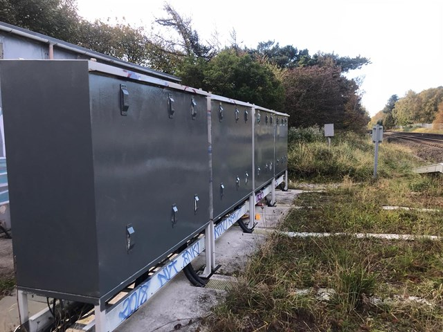 Cleaned up electrical substations in Southport