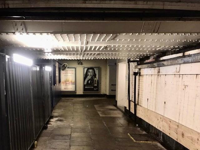 Barrow-in-Furness subway before overhaul Feb 2020